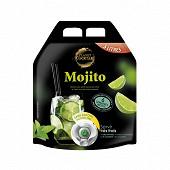 Mojito boisson sans alcool aux jus de citron et citron vert 3l