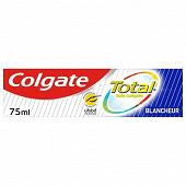 Colgate total dentifrice blancheur 75ml