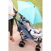 Badabulle ombrelle anti uv confetti bleu