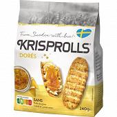 Krisprolls dorés 240g