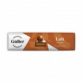Galler baton chocolait lait praline 70g