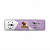 Galler baton chocolat blanc praliné 70g