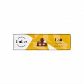 Galler baton chocolat lait noisettes entières 65g