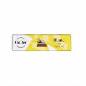 Galler baton chocolat blanc noix de coco 70g