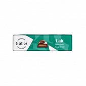Galler baton chocolat lait massepain 70g
