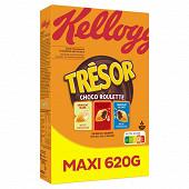 Kellogg's trésor choco roulettes Maxi 620g