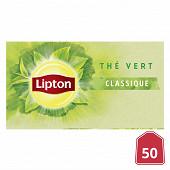 Lipton thé vert classique x50 65g