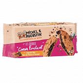 Michel et Augustin super cookies coeur fondant pécan choco noir 180g