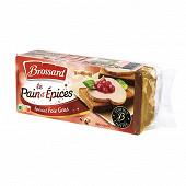 Brossard pain d'épices spécial foie gras  édition limitée 360g