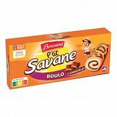 P'tit savane roulo chocolat x6 150g