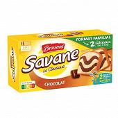 Savane familial bipack chocolat 620g