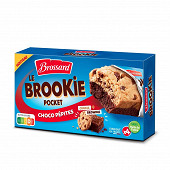 Brossard le brookie pocket choco pépites x4 184g