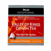 Dilmah Exceptional thé noir de ceylan valley of kings orange x20 40g