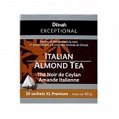 Dilmah execptional thé noir ceylan amande italienne 40g