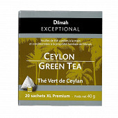 Dilmah exceptional thé vert de Ceylan x20 40g