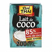 Real thai lait de coco uht 200ml