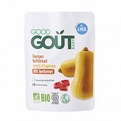 Good goût  courges butternut sauté d'agneau 190g dès 6 mois