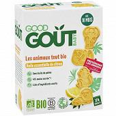 Good gout biscuits animaux tout bio citron 80g