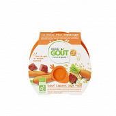 Good Gout Boeuf carottes orge perlé 220g