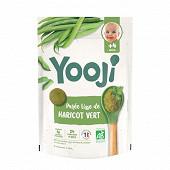 Yooji purée de haricots verts bio surgelé 4 mois 480g (24 galets de 20g)