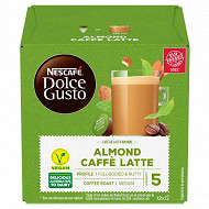 Nescafé Dolce Gusto Café au lait d'amande, capsule café- x12 dosettes