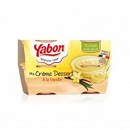 Yabon creme dessert vanille 4x120g