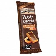 Michel et Augustin petits carrés au caramel salé chocolat au lait 75g