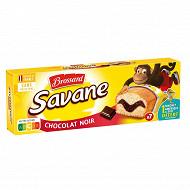 Brossard savane pocket chocolat noir x7 210g