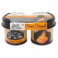 Sacré Willy crème caramel 2x125g