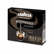 Lavazza café espresso italiano classico 2x250g