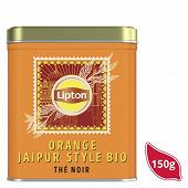 Lipton thé bio orange jaipur 150g