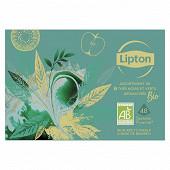 Lipton thé assortiments noir et vert  69gr