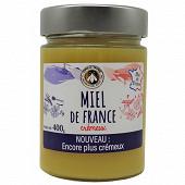 Les Apiculteurs associés miel de France crémeux 400g
