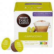Nescafé Dolce Gusto Cappuccino, capsule café - x30 dosettes
