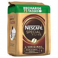 Nescafé Spécial Filtre - Café soluble éco pack - 150g
