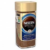 Nescafé Spécial Filtre Décaféiné - Café soluble riche et subtil - 100g