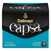 Dallmayr Capsa Azzurro lungo café en capsule X 10 56g