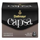 Dallmayr Capsa Ristretto espresso café en capsule X 10 56g