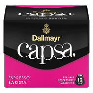 Dallmayr Capsa Barista espresso café en capsule X 10 56g