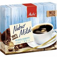 Melitta Natur Mild café moulu 2X250g