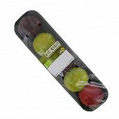 Prune bio bicolore barquette 500g