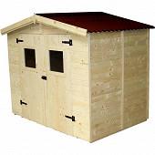 Abri panneau 16 mm surface extérieure abri 5.04 m2