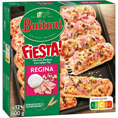 BUITONI FIESTA pizza surgelée Regina 500g