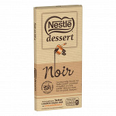 Nestlé Dessert tablette de chocolat noir 205g