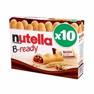 Nutella b-ready t10 etui de 10 pièces 220g