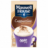 Maxwell house max cappuccino aux éclats de milka 176g