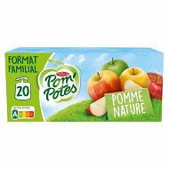Pom'potes pomme nature 20x90g