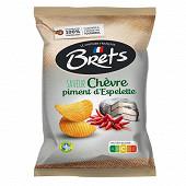 Bret's chips saveur chèvre et piment d'espelette 125g