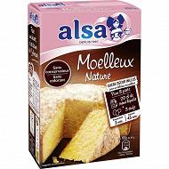 Alsa préparation gâteau moelleux nature 435g