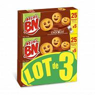 Bn mini chocolat lot x3 525g